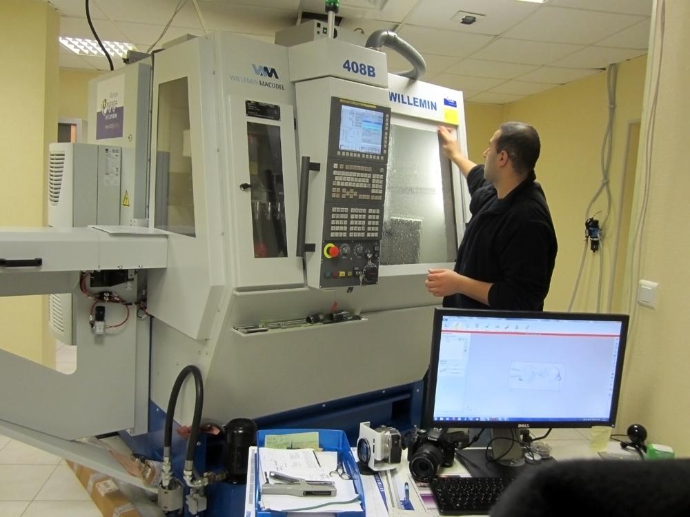 Machine outil la plus performante existant sur le marché. Associé à la CPLD, le laboratoire BSR  propose des éléments prothétiques de très haute qualité <strong>pour les besoins actuels et ceux à venir.</strong>