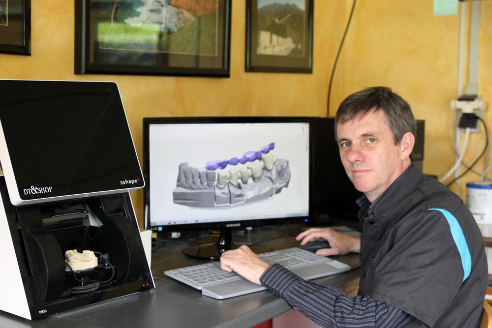 Scanner de numérisation 3D haute résolution